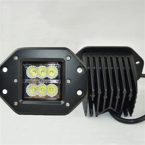 truck mounted work lights 24w led work light bar 12v led tractor work lights for
