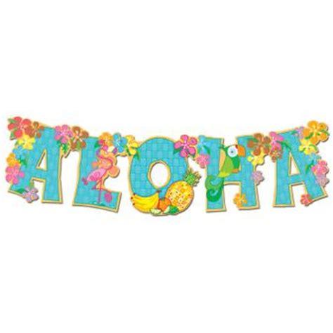 aloha clipart craft projects holidays clipart clipartoons aloha girlande flower 84 cm g 252 nstig kaufen bei partydeko de