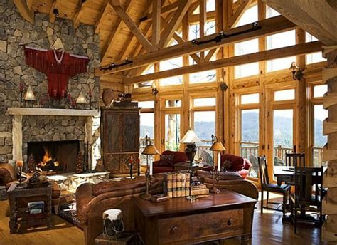 luxury log home interiors luxury cabin interiors www pixshark images