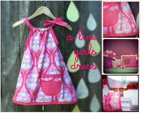 diy craft how to sew an a line dress dear