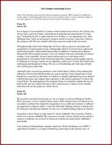 scholarship letter template essay for scholarship sle for nursing