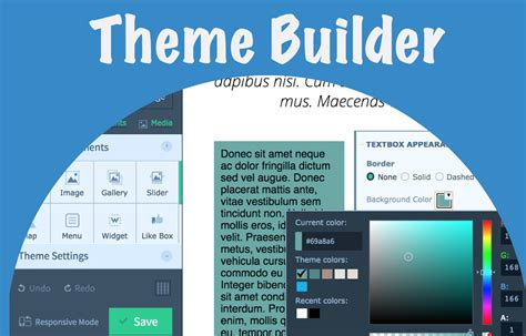 download themes builder wordpress upfront theme builder download for 15 v1 9 4