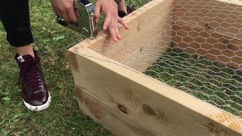 build  eartheasy natural cedar raised garden bed