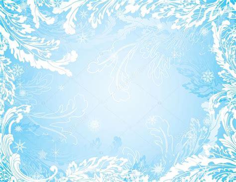 frozen wallpaper vector blue frozen winter background with snowflakes stock