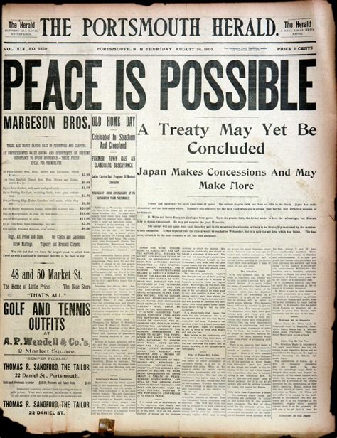 portsmouth peace treaty
