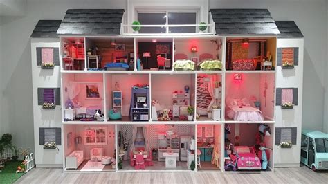 my ag doll house tour huge american girl doll house tour 2017 new my crafts and diy projects