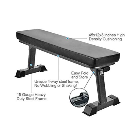 flat bench form finer form gym quality foldable flat bench for multi