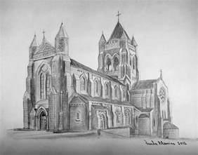 st bernard catholic church drawing by vanda bleavins