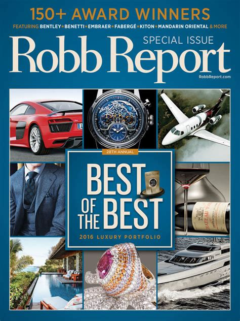 Robb Report Magazine by Robb Report Magazine Best Luxury Cars Watches Etc On The App Store