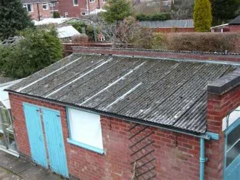 repair  asbestos roof youtube