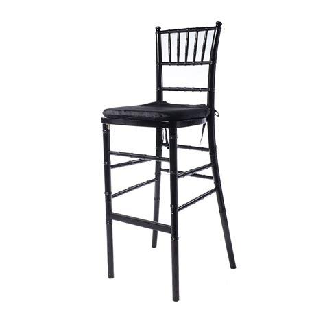 black stool not black chiavari bar stool event rents