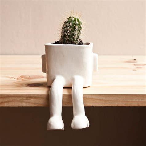 Ceramic Flower Planters by Ceramic Sitting Flower Pots The Green