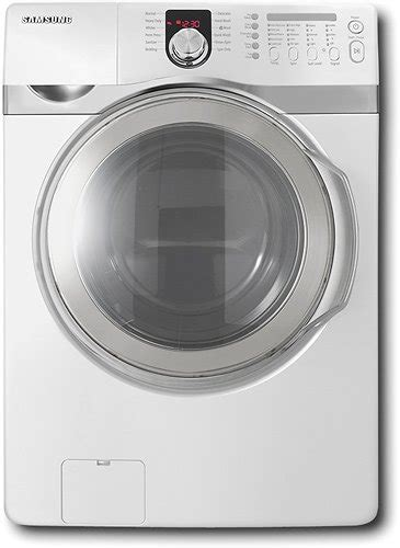 samsung 4 0 cu ft 12 cycle front load steam washer white wf407anw xaa best buy