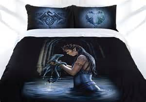 Anne stokes dragon friendship quilt covers shopinside com au
