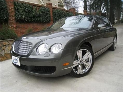 2007 bentley continental flying spur w12 no accidents awd immaculate condition black royal find used 2007 bentley continental flying spur cypress savannah laurel lthr beautiful in