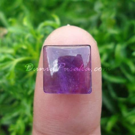 Mustika Cahaya Nyi Roro Kidul batu bertuah kecubung ungu keris semar mesem