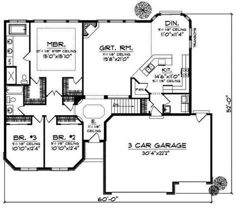 www monsterhouseplans com monster house plans ranch fresh best 25 ranch style floor