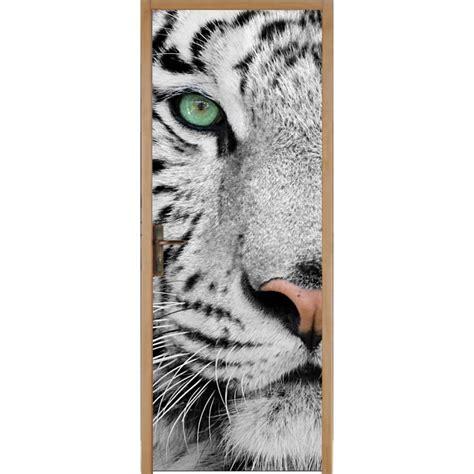 sticker porte tigre stickers autocollants