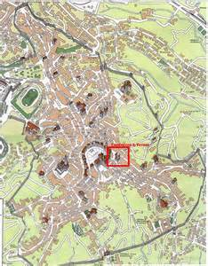 Siena Italy Map by Iswcs2005 Conference Venue