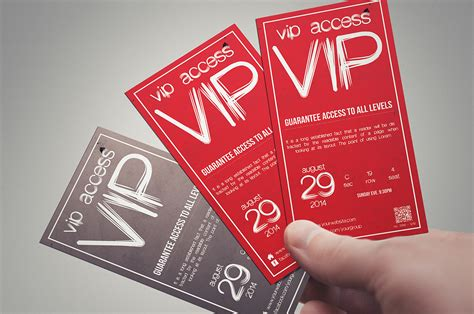 vip pass card template multipurpose simple vip pass card templates on creative
