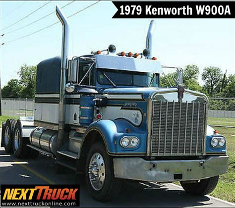 w900a kenworth trucks for sale our featured truck is a 1979 kenworth w900a sleeper