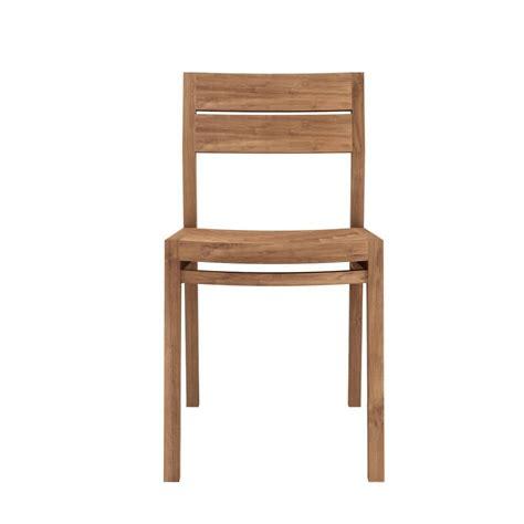 sedie teak ex1 w sedia ethnicraft in legno di rovere o teak