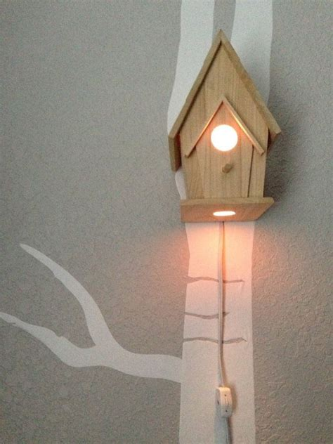 woodland nursery light fixture bird house light woodland nursery