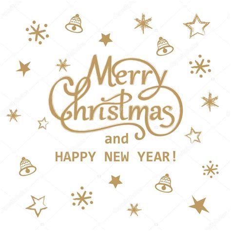 merry christmas letra imagenes feliz navidad y feliz a 241 o nuevo dorado dise 241 o de tarjeta