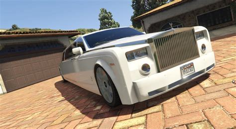 roll royce car inside gta 5 rolls royce phantom limousine mod gtainside com