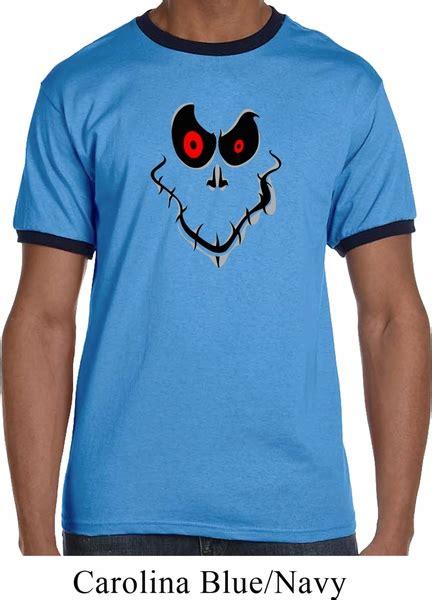 T Shirt Ringer Ghost Maron mens shirt ghost ringer t shirt ghost mens shirts