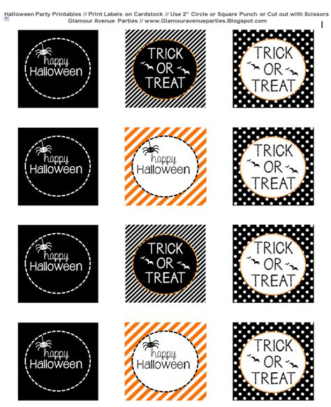 printable halloween tags halloween printable labels festival collections
