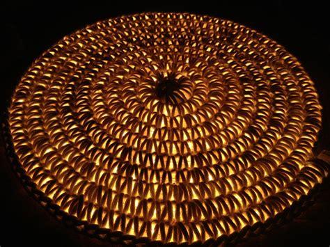 lighted crochet rug illuminated rug crocheted clothesline and rope light somethingimade