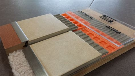 Ditra Mat Thickness by Schluter Ditra Ditra Xl Ditra Heat Tile Lines