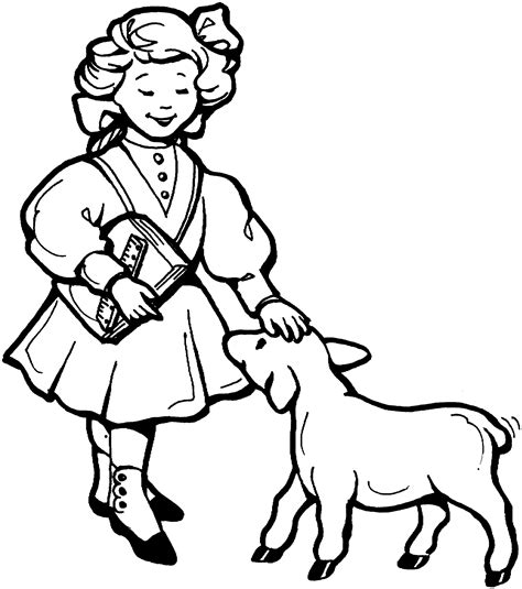 Free Printable Nursery Rhymes Coloring Pages For Kids Free Coloring Pics