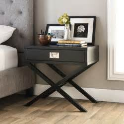 Writing Desk On Sale Napa Black 1 Drawer Bedside Table Free Shipping Today