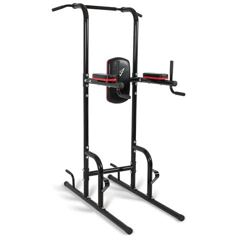 heavy duty dip station power tower pull push chin up bar