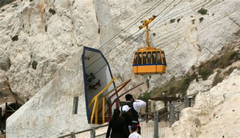 Ekashi Rent Car listening to the grottoes of rosh hanikra israel21c