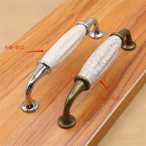 kitchen cabinet door handles and knobs classic door handles white and crack ceramic kitchen