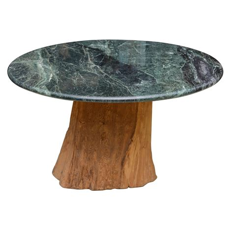 tree trunk dining table organic michael tree trunk marble dining table mid