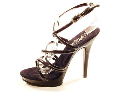 Sandal High Hells 106 28mydo pleaser shoes lip 106 black high heel mini platform
