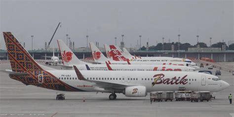 rute batik air yang dibekukan rute baru batik air layani penerbangan ke papua barat