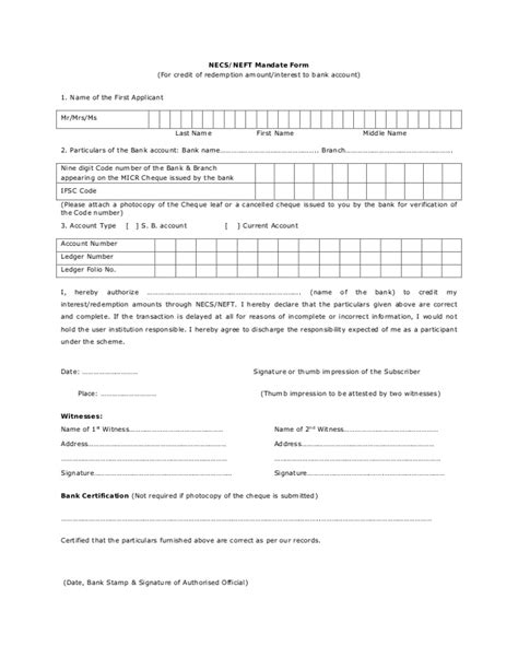 Neft Transfer Letter Format Rbi Inflation Linked Bonds 2013 National Savings Securities