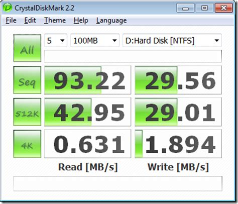 disk speed test find out your disk read and write speed next of windows