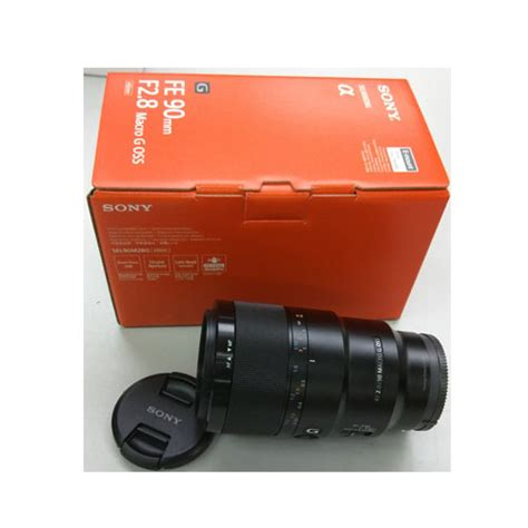 Sony 90mm F 2 8g Oss Macro G Lens new sony fe 90mm f2 8 macro g oss frame lens