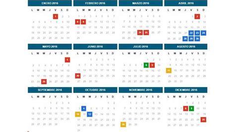 Calendario 2017 Con Sus Feriados En 2016 En La Argentina Habr 225 Casi Un D 237 A De Descanso