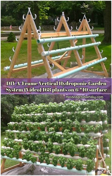 shares this a frame hydroponic garden system is a great