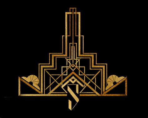 art deco silvatar media a luxuriously art deco logo