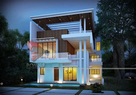 modern house architecture design modern tropical house