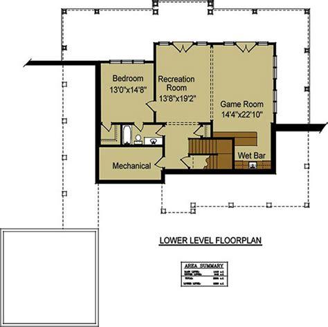 floor plans for basements open floor plan with wrap around porch banner elk ii