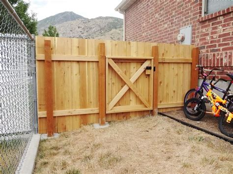 best way to build a house build a wooden fence and gate